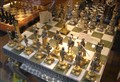 Gold and Bronze Chess Set
