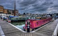 Storm Clouds Over Gloucester Docks