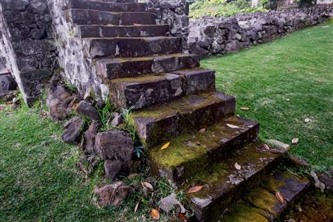 Old Stairway, Hawaii