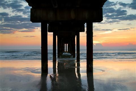 underpier_sunrise