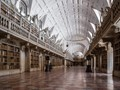 Mafra national Palace Library in Mafra, Portugal, ranked nº 10 among the 50 most beautiful libraries in the world.  http://www.bestvalueschools.com/50-most-beautiful-libraries-in-the-world/
