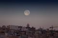 Moon over Valletta