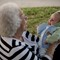 Michael's first picnic with Greatgrandmother.