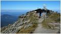 Pietrosul Rodnei Summit. 2303m; the highest point of the Eastern Carpathian Mountains