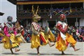 trbal dance in Bhutan