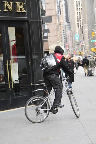 Delivery BikerNew York