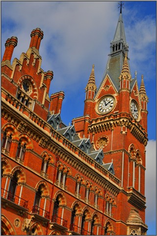 St Pancras Chambers Clock Tower