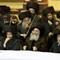 Bobov Rabbi with fiddlers (1)