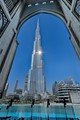 With a total height of 829.8 m including the antenna and a roof height of 828 m the Burj Khalifa is currently the tallest structure in the world