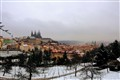 Winter in Prag