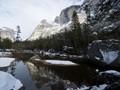 Snow on Mirror Lake