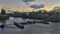 Sunset in Galway, Ireland