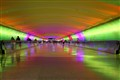 Detroit Airport's Light Tunnel