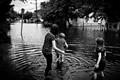 Wading Through the Flood