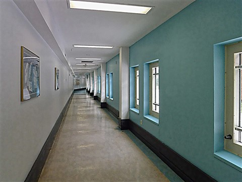 Corridor...passageway.   (better seen large)
