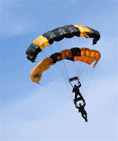 Golden Nights - Tandem Parachuting
