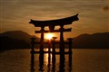 Sunset on Miyajima