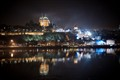 St-Lawrence River on Red Bull Crashed Ice night