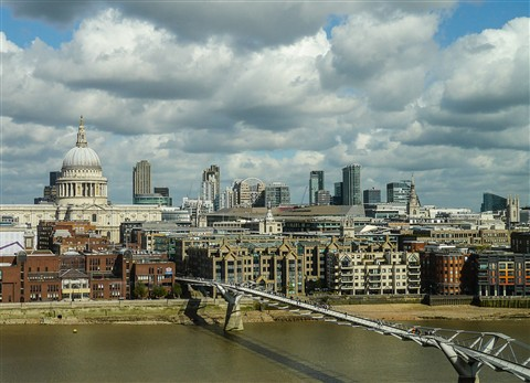 st pauls from tate modern for dpr