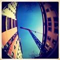 sky over Milan