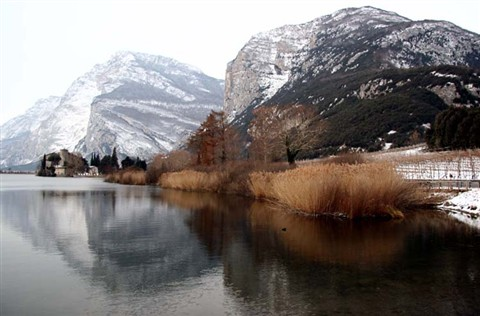 Toblino winter