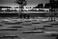 Langemark Cemetery near Ieper