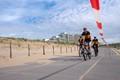 Bicycle race in Noordwijk