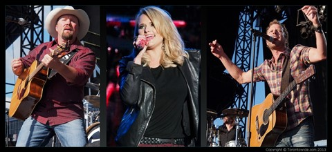 Boots And Hearts 2013 - Tate Stevens, Miranda Lambert, Dierks Bentley