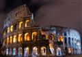 Roman Collesium at Night