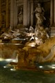 Fontana di Trevi  at night