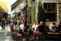 Open air coffee shop