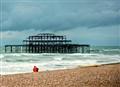West Pier - Brighton beach, UK