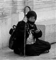 The Beggar Rome Italy