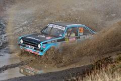 Ford Escort MkII rally car