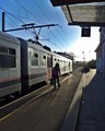 A train is always synonymous with departure and adventure.