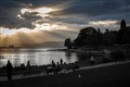 Sunset at English bay, Vancouver
