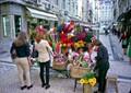 Lisbon flower seller