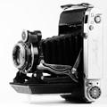 Russian medium format folding camera