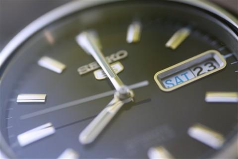 seiko 5's dial