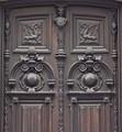 Upper part of antique door