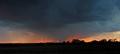 Stormy Sun Set