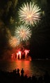 Fireworks over the lake 5