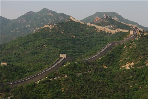 Great Wall - 70 km to the North of Beijing