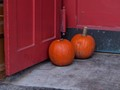 Pumpkins on the Door Step