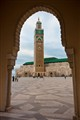 The Hassan II Mosque, Casablanca