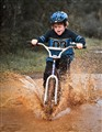You can ride your bike, just don't get wet...