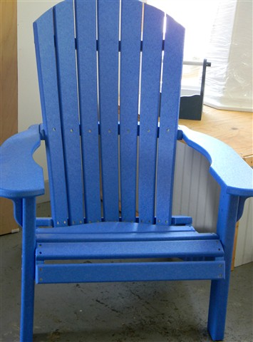 Blue Chair - South Yarmouth MA