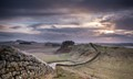 Hadrinan's wall at Housesteads Roman fort