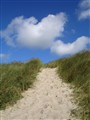Denmark, that is sand dunes, long beaches .....