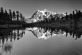 Mt Shuksan and Reflection